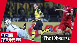 Paco Alcácer the hero as red-hot Dortmund down Bayern in thriller