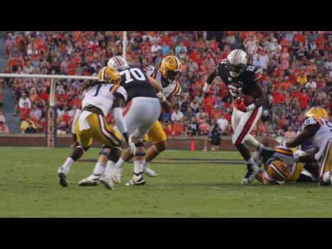 Auburn beats LSU 18 to 13 after a crazy last second play was overturned.
