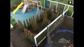 Safe Play Tiles On HGTV Outdoor Edition
