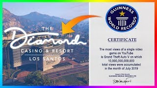 Rockstar Games Broke A NEW Record With The Diamond Casino & Resort DLC Update In GTA 5 Online!