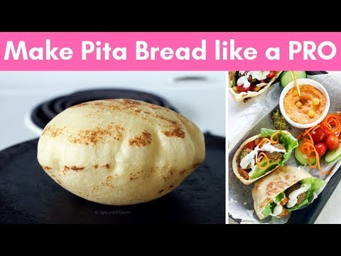 How to make Pita Bread at home like a PRO (without oven)