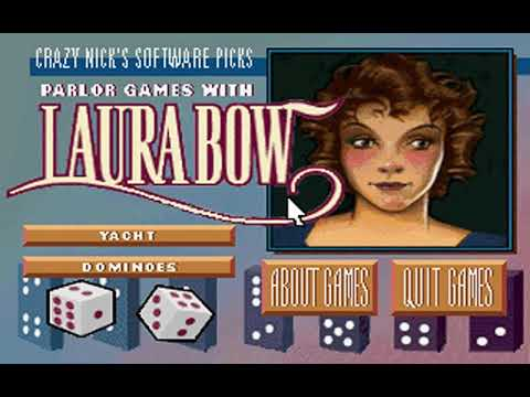 Crazy Nick's Software Picks: Parlor Games with Laura Bow (Sierra On-Line) (MS-DOS) [1992]
