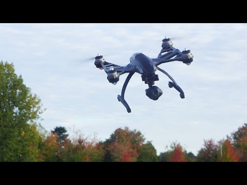 Yuneec Typhoon 4K Drone Unboxing, Setup and Flight Testing - UC7he88s5y9vM3VlRriggs7A