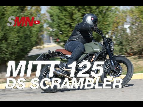 Prueba MITT 125 DS SCRAMBLER 2020 [FULL HD]