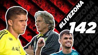 LIVEZONA 142 - CUELLAR SAINDO| MICHAEL DO GOIÁS? | ENTREVISTA COM JJ | NOVELA BALOTELLI