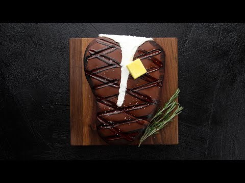 """GIANT Steak that is a Cake""""! A Delicious April Fools Prank 