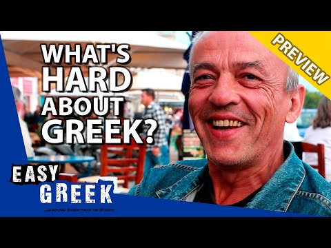 What Long-Time Learners Think Is Hard About Greek (PREVIEW) | Easy Greek 70 photo