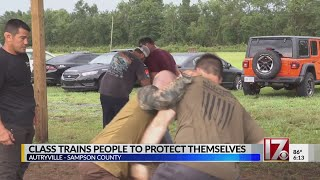 More in central NC taking self-defense classes as tragedies mount