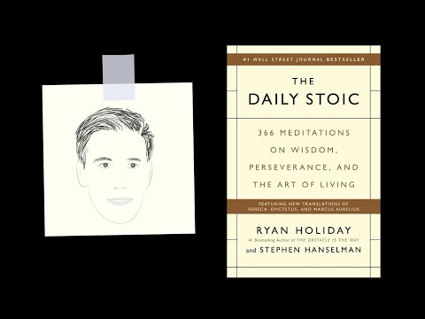 THE DAILY STOIC by Ryan Holiday  Core Message