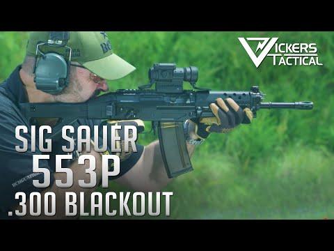 SIG Sauer 553P .300 Blackout