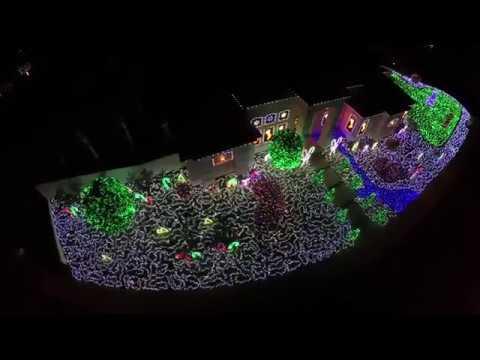Brea Christmas Lights.Brea Christmas Via Drone Mdp Lt