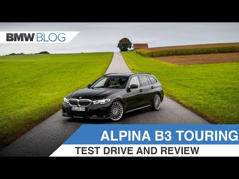 2020 ALPINA B3 Touring - Is This The Perfect Road Car?