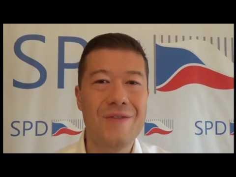Tomio Okamura: Prosazuji odvolatelnost a hmotnou odpovědnost politiků a široké referendum
