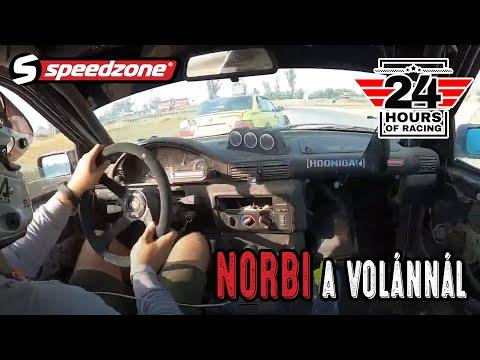 Speedzone 24h (2021): Norbi a volánnál