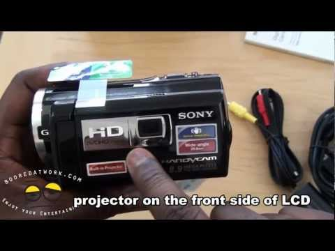 Sony Handycam with Projector HDR-PJ260V Unboxing & First Impressions - UC5lDVbmgb-sAcx2fjwy3KQA