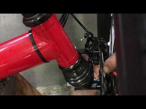 Sunseeker electric fat tad disc brake adjustment