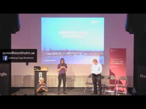 Vad erbjuder Jobbtorg Unga Stockholm för stöd för unga vuxna?