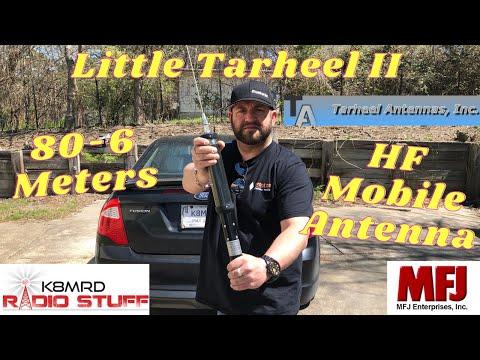 Little Tarheel II | Mobile HF 80-6 Meter Ham Radio Antenna