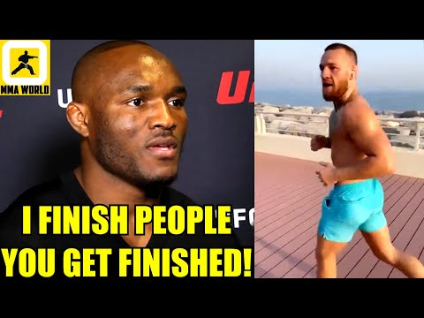Kamaru Usman ROASTS Conor McGregor for saying he'll smack him for copying his style,Dana on Jones