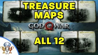 All 12 Treasure Map Locations and Dig Spots