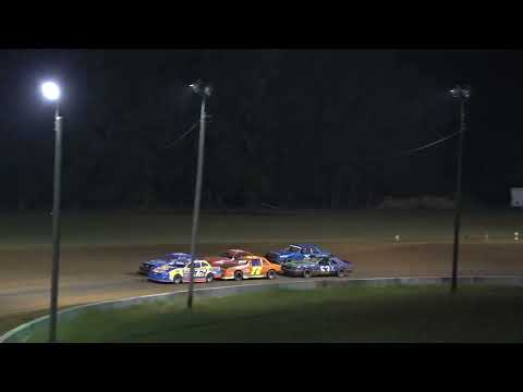 08/28/21 Mini Stock Heat and Feature Race - Oglethorpe Speedway Park - dirt track racing video image