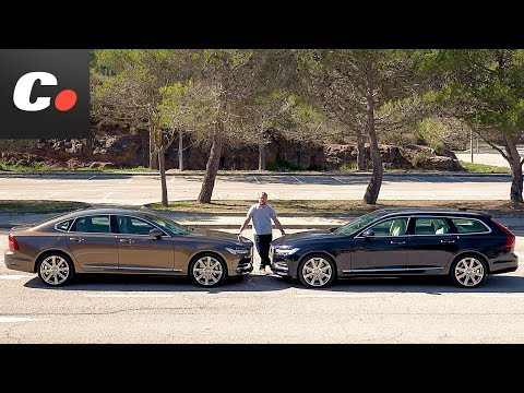 Volvo S90 vs V90 2017 ¿sedán o break"