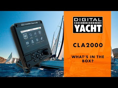 CLA2000 - Class A AIS Transponder - What's in the box?