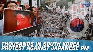 South Koreans Demand Apology From Japan For World War II Atrocities | Indus News