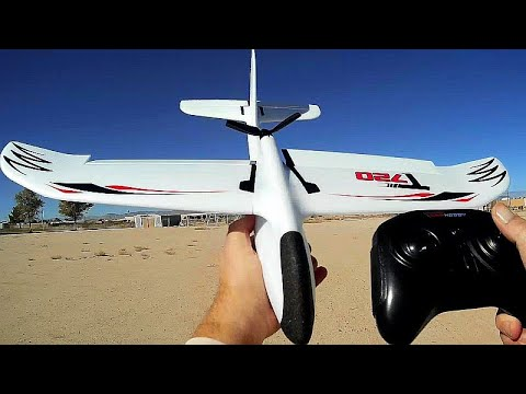 OMPHobby T720 4 Channel RTF Stabilized Brushless RC Powered Glider Flight Test Review - UC90A4JdsSoFm1Okfu0DHTuQ