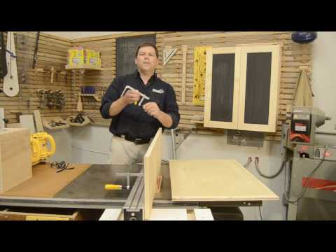15 Minute Tablesaw Tall Fence Plans
