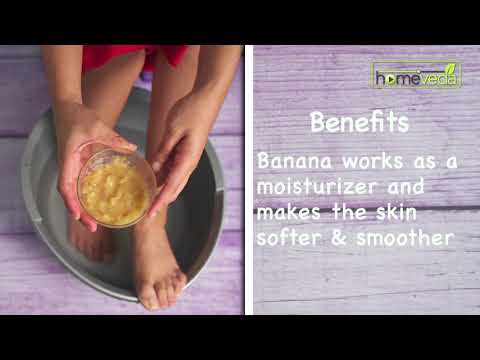 DIY Feet Cleanse Using Bananas| Easy Remedies - Homeveda