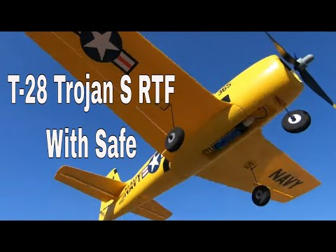 T-28 Trojan S RTF with SAFE (HBZ5600) - UCtw-AVI0_PsFqFDtWwIrrPA