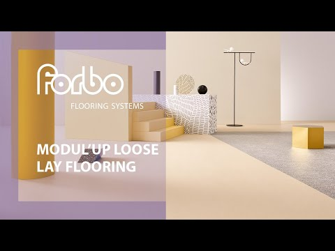 Forbo Flooring Systems Modul'Up loose lay sheet vinyl