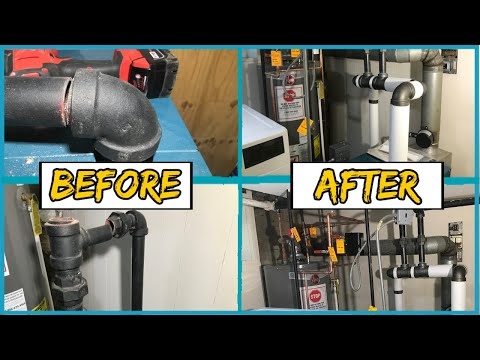 Steam Boiler Pipe Repair
