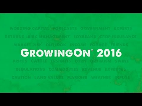 GrowingOn® 2016 Update