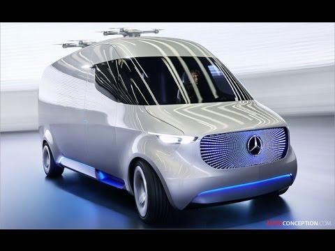 Transportation Design: Mercedes-Benz 'Vision Van'