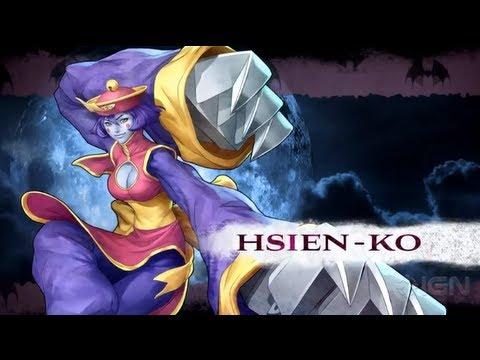 Darkstalkers - Hsien-Ko Moves List - UCKy1dAqELo0zrOtPkf0eTMw