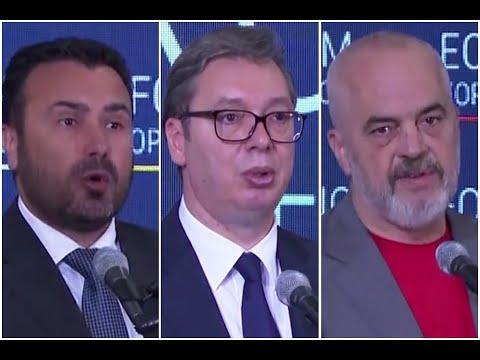Zaev, Vučić i Rama o povezivanju Balkana