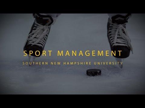 Sport Management Degree Gave Grad a Shot at His Goal