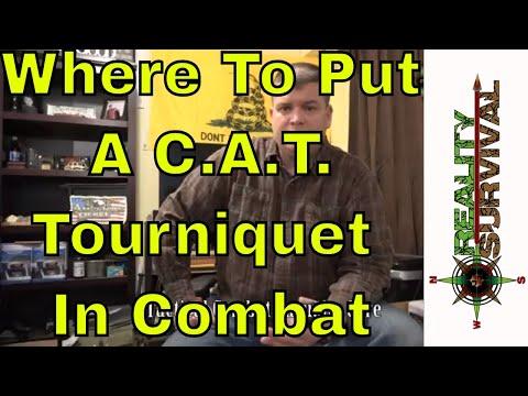 Where To Apply A C.A.T. Tourniquet When Under Fire - TCCC