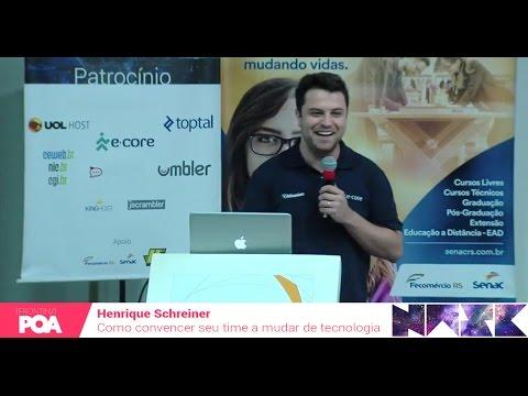 Front in POA 2016 - Henrique Schreiner - Como convencer seu time a mudar de tecnologia