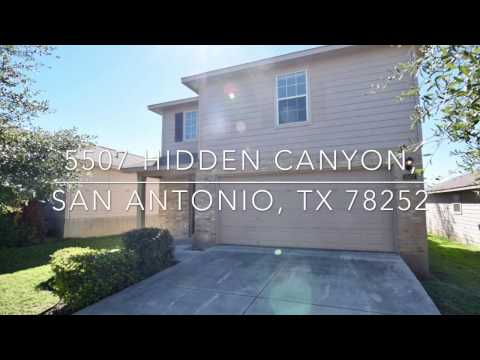 5507 Hidden Canyon, San Antonio TX 78252