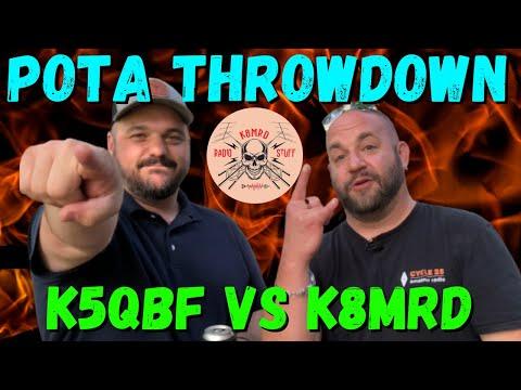 POTA Throwdown | K5QBF vs K8MRD A Battle to the Death!