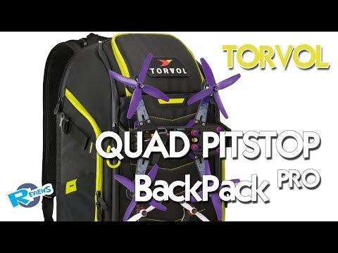 Torvol Quad Pitstop Backpack Pro with Lipo Pouch - UCv2D074JIyQEXdjK17SmREQ