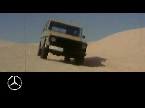 Mercedes-Benz G-Class: Strong Stories | In the Desert with the Prototype