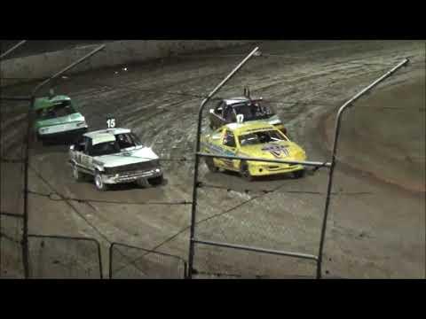 Junior Sedans Feature Race at Castrol Edge Lismore Speedway. 19.01.19 - dirt track racing video image