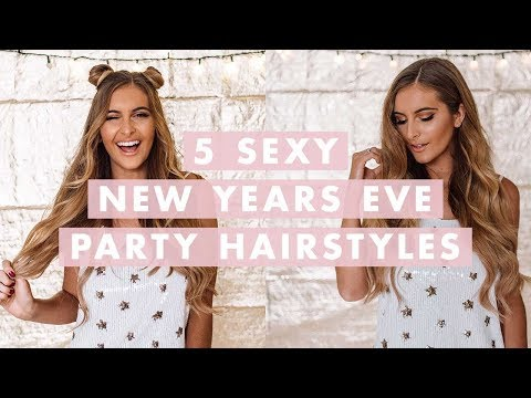 5 Sexy New Year's Eve Hairstyles