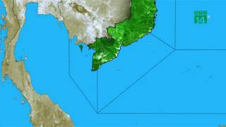 Thời tiết biển 20/05/2019: Mưa dông gia tăng trên các vùng biển | VTC14