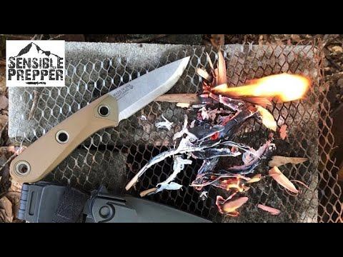 Gerber Principle   USA Made Bushcraft Knife Review