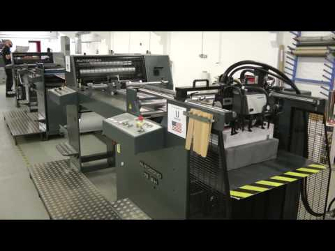 Autobond Edgemaster 76 EH - on test for customer in USA